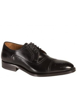 BURGOS Classic Perforated Cap Toe Oxford
