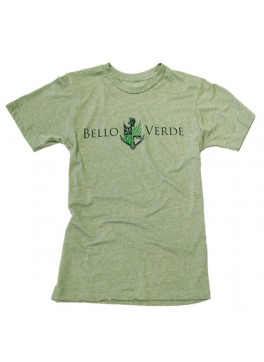 Bello Verde Green on Green Crew