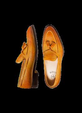 Okra Scotch Grain Tassle Loafer