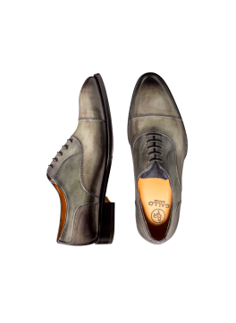 Anthracite Cap Toe Lace-up