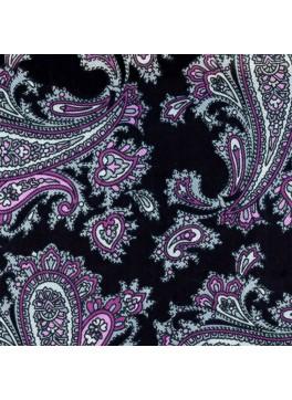 Black/Purple Paisley (GLD10589)