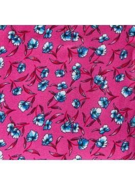 Pink/Light Blue Floral (GLD360008)