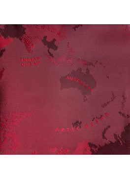 Red World Map (GLD360023)
