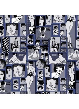 Pop Art Lady Blue (GLD360166)
