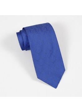 Blue Tone on Tone Jacquard Tie