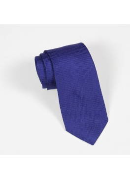 Royal Blue Textured Solid Tie
