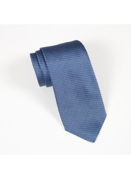 Light Blue Textured Solid Tie