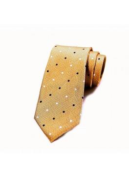 Yellow Polka Dot Tie