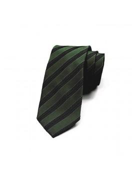 Green/Navy Stripe Tie