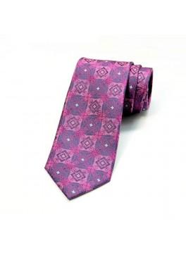 Berry Jacquard Tie