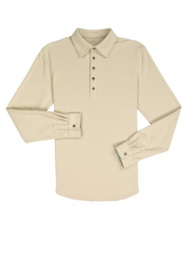 Cambridge Popover - Khaki Tan Comfort Pique