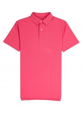 Tennis Club - Bright Pink Lightweight Pique
