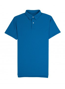 Tennis Club - Bright Blue Lightweight Pique