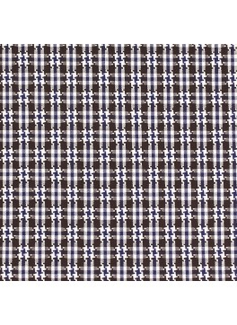 Brown/Blue/White Houndstooth Check (SV 513636-190)