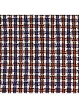 Orange/Blue/White Houndstooth Check (SV 513640-190)