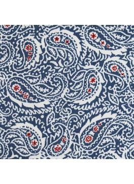 Blue/Red/White Paisley Print (SV 514080-200)