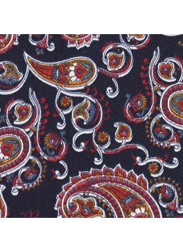 Navy/Red/Orange Paisley Print (SV 514114-200)