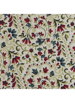 Cream/Red/Green Floral Print (SV 514124-200)