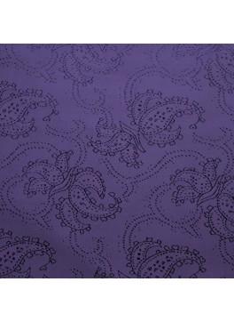 Purple Paisley Jacquard (YZ003)