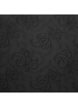 Black Paisley Jacquard (YZ004)
