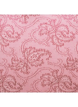 Pink Paisley Jacquard (YZ005)