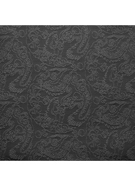 Charcoal Paisley Jacquard (YZ022)