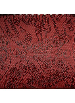 Red Paisley Jacquard (YZ087)
